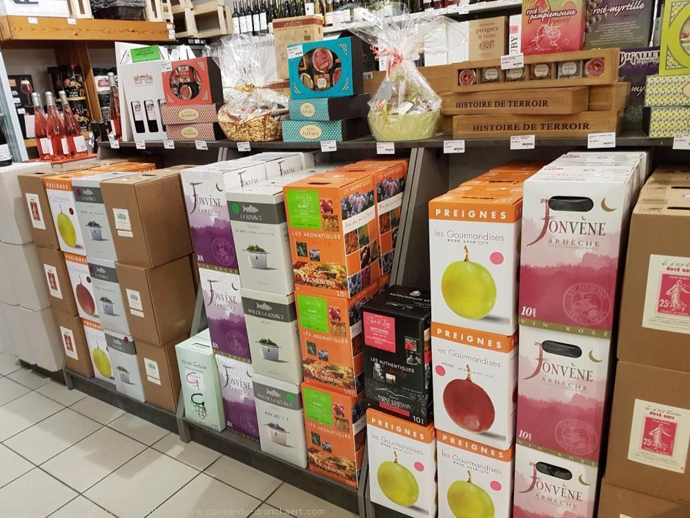 les cubits 10 L, vins rouge, rosé, blanc