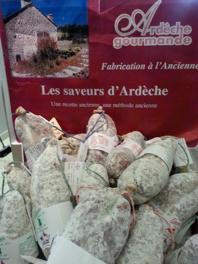 SAUCISSONS SEC DE L\'ARDECHE