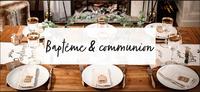 Baptême communion