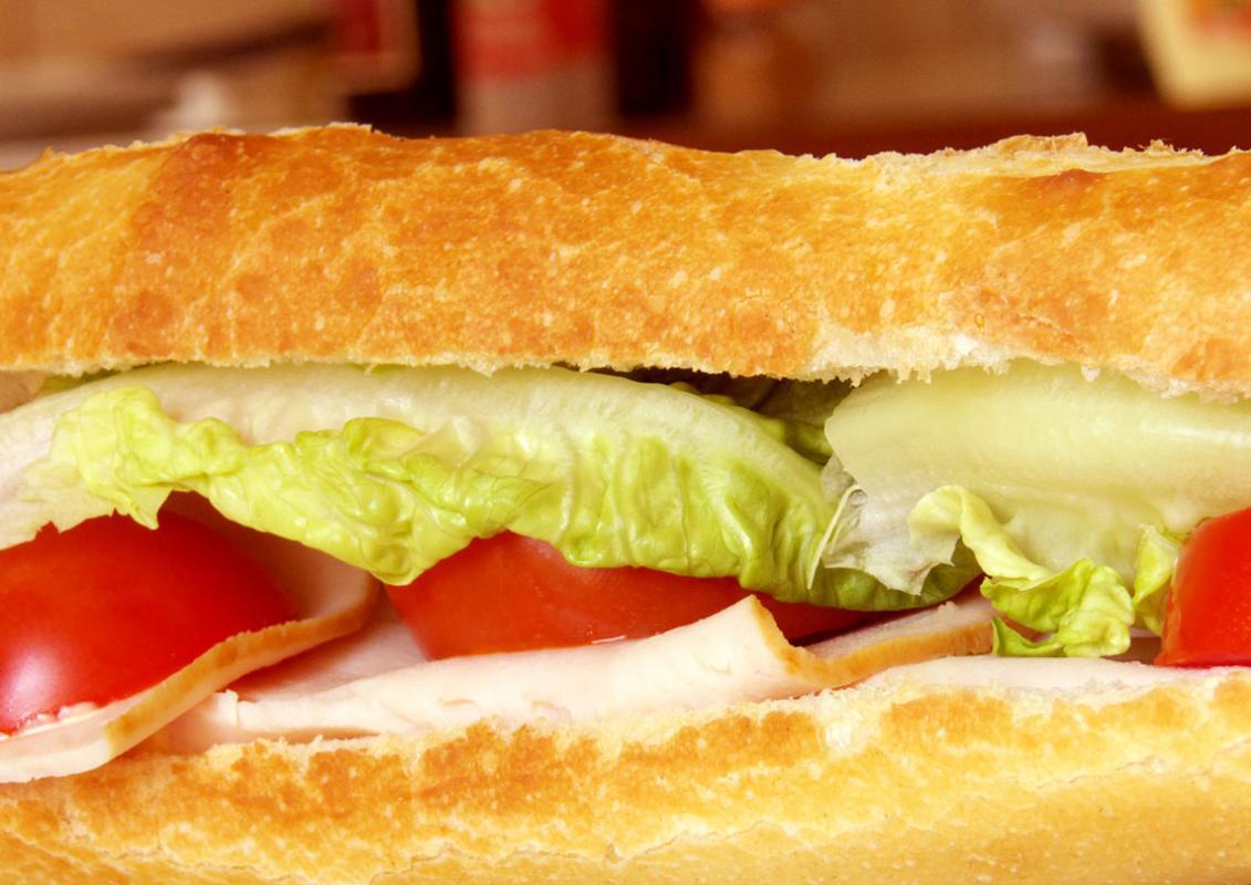 Sandwich au filet de poulet
