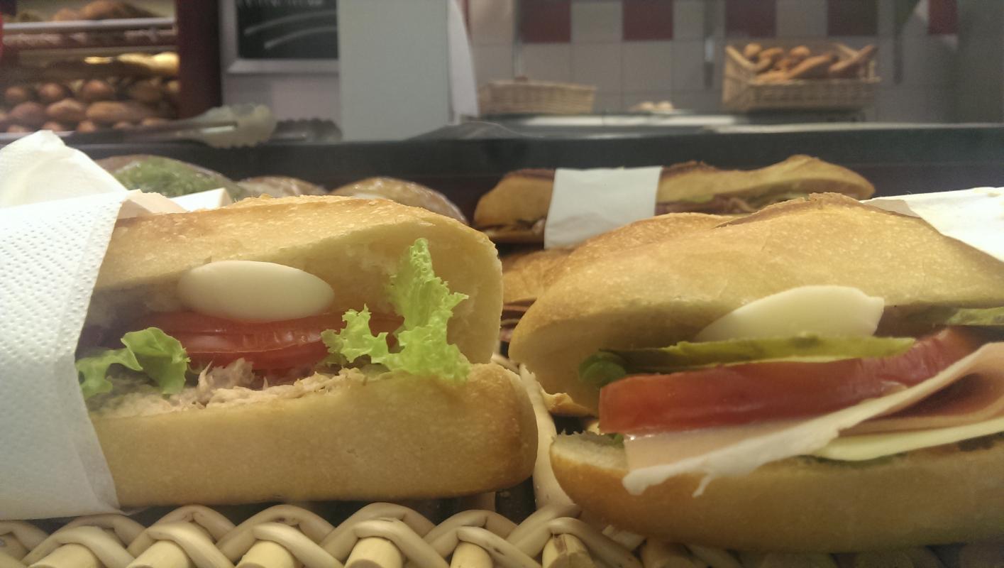 Sandwich extra frais 2