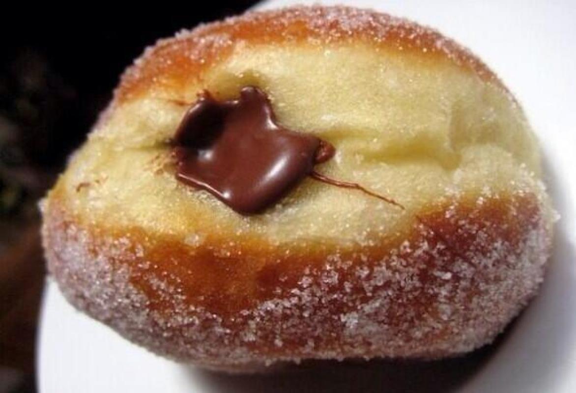 """Beignets au  goût """"Nutella"""""""
