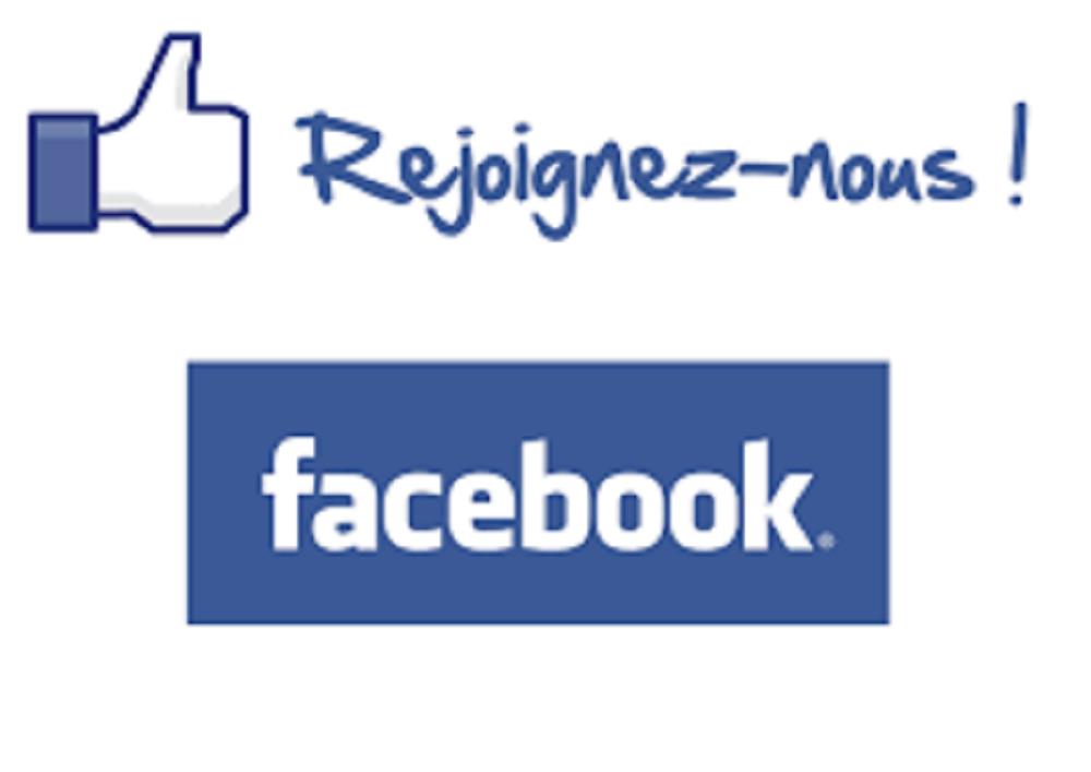Rejoignez-nous ! Facebook