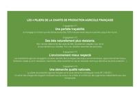Nos 4 piliers de production agricole Française